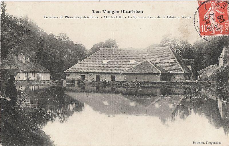 Photo du Monument Historique Forge de Ruaux situé à Plombières-les-Bains