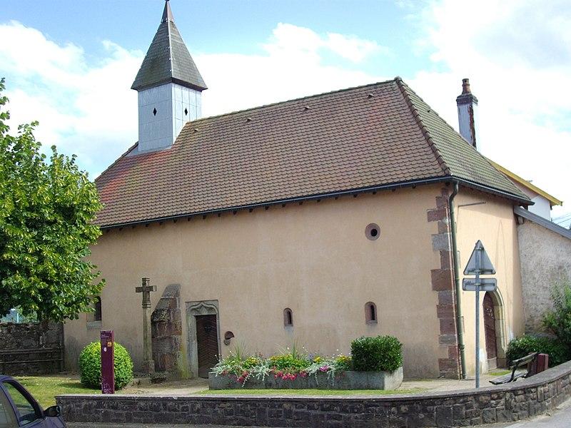 Photo du Monument Historique Chapelle de la Madeleine situé à Remiremont