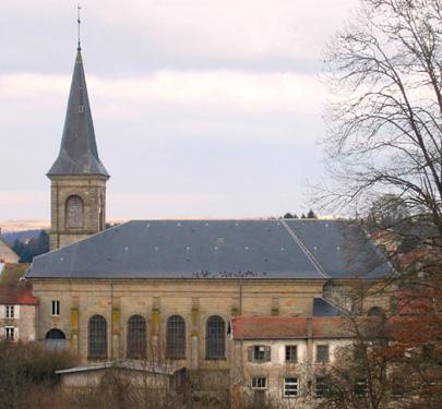 Photo du Monument Historique Eglise Sainte-Madeleine situé à Darney