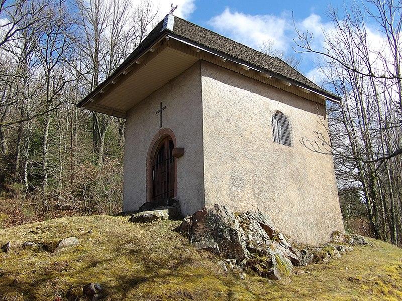 Photo du Monument Historique Chapelle Saint-Hubert de Berniprey situé à Ban-sur-Meurthe-Clefcy