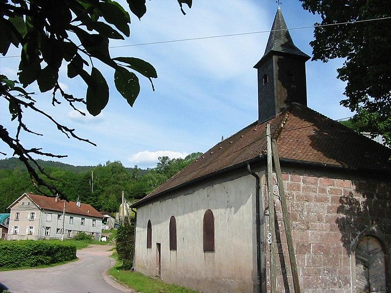 Photo du Monument Historique Chapelle Saint-Del situé à Gerbamont