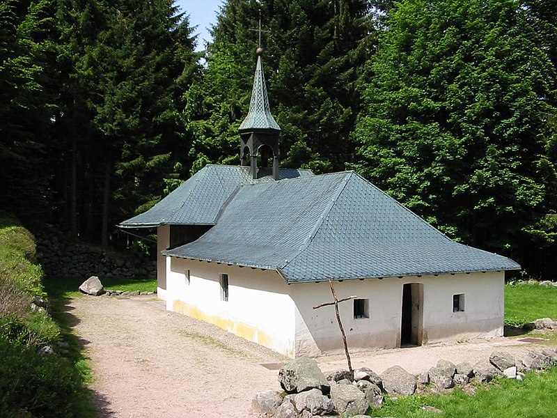 Photo du Monument Historique Ermitage du frère Joseph situé à Ventron
