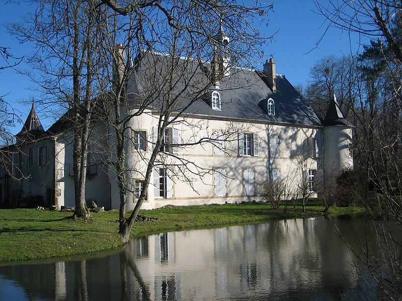Photo du Monument Historique Domaine du château situé à Girecourt-sur-Durbion