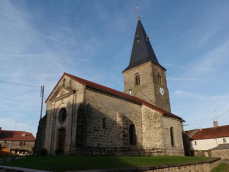 Photo du Monument Historique Eglise Saint-Evre situé à Romain-aux-Bois