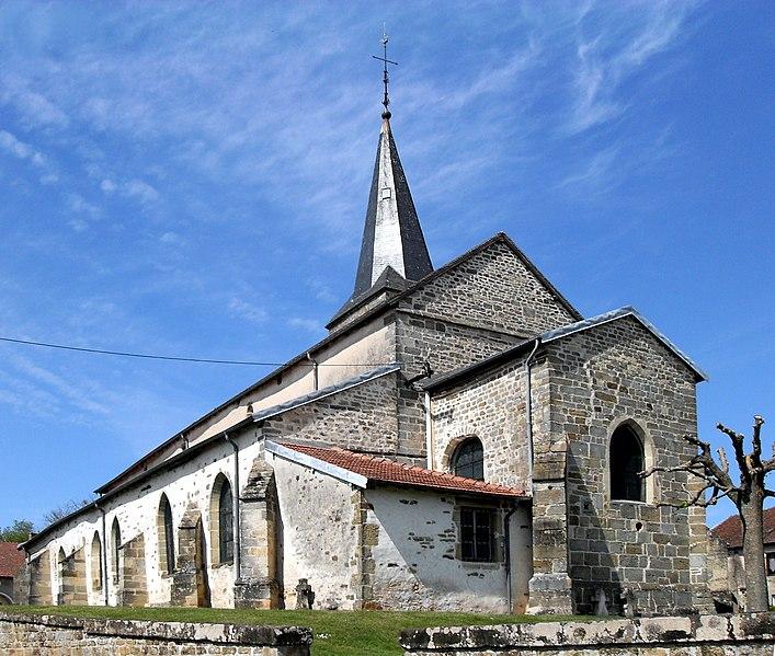 Photo du Monument Historique Eglise de la Sainte-Trinité, à Saint-Ouen situé à Saint-Ouen-lès-Parey