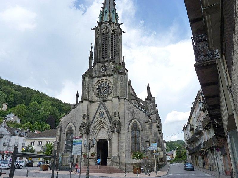 Photo du Monument Historique Eglise Saint-Amé situé à Plombières-les-Bains