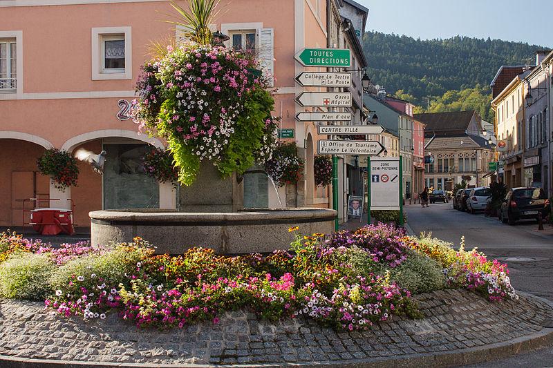 Photo du Monument Historique Huit fontaines situé à Remiremont