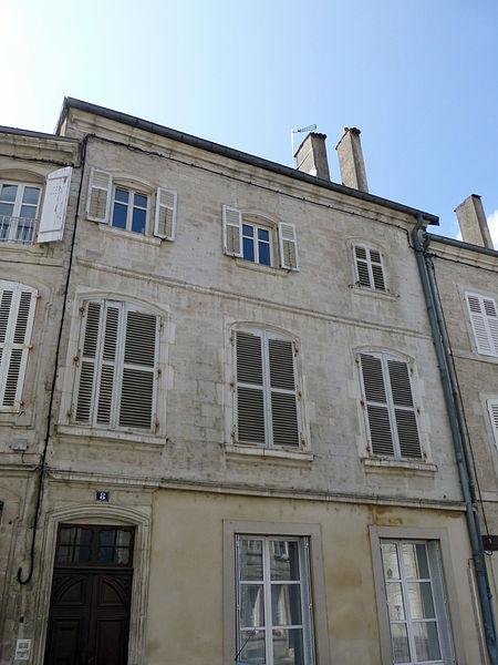 Photo du Monument Historique Maison situé à Neufchâteau