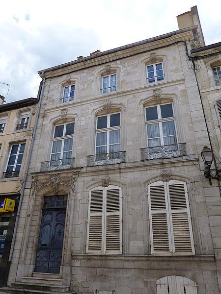 Photo du Monument Historique Ensemble immobilier situé à Neufchâteau