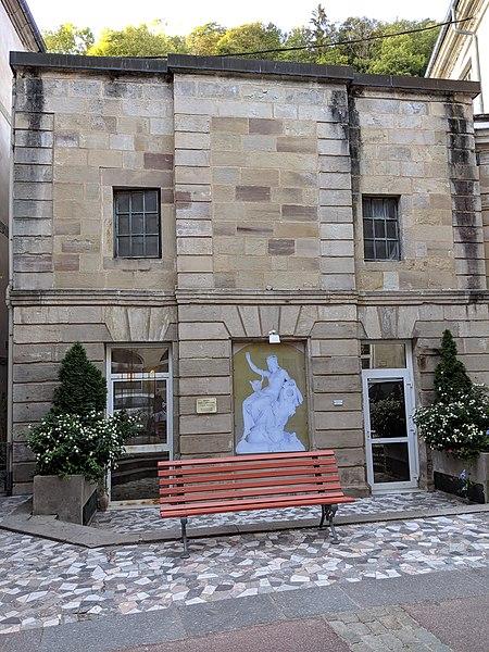 Photo du Monument Historique Bain des Capucins, ancien Petit Bain ou Bain des Pauvres ou Bain des Goutteux situé à Plombières-les-Bains