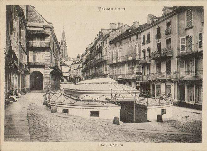 Photo du Monument Historique Bain Romain situé à Plombières-les-Bains