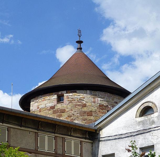 Photo du Monument Historique Tour d'Anglemein situé à Rambervillers