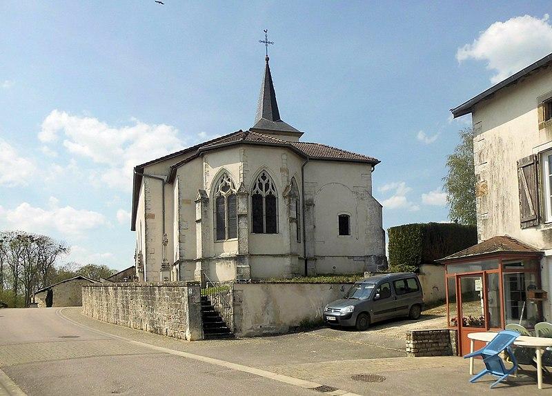Photo du Monument Historique Eglise Saint-Martin situé à Dommartin-sur-Vraine