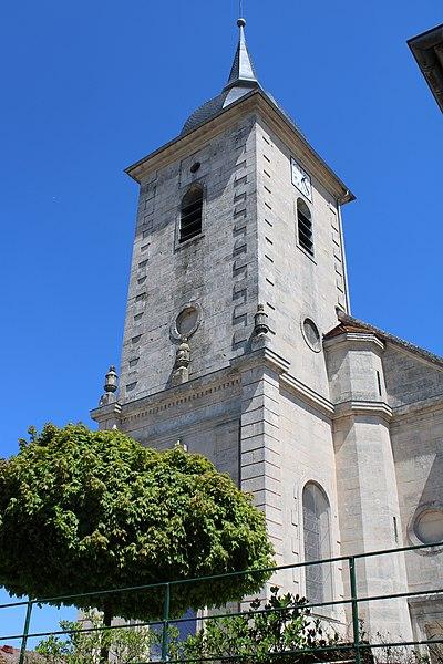 Photo du Monument Historique Eglise Saint-Pierre et Saint-Paul de Trampot situé à Trampot