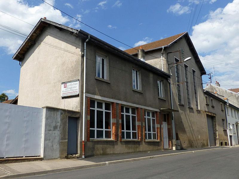 Photo du Monument Historique Manufacture des Grandes Orgues situé à Rambervillers