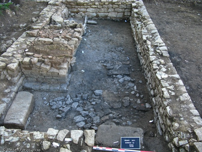 Photo du Monument Historique Villa romaine de la Fontainotte situé à Grand