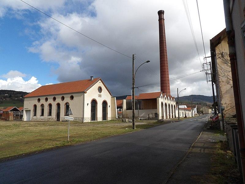 Photo du Monument Historique Ancienne filature des Aulnes situé à Fraize
