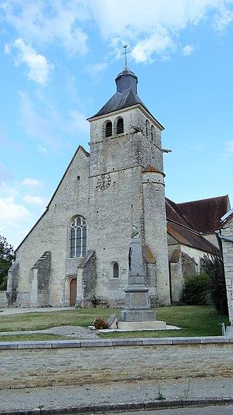 Photo du Monument Historique Eglise Saint-Didier et Saint-Leu situé à Argenteuil-sur-Armançon