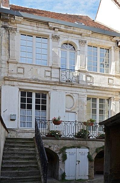 Photo du Monument Historique Immeuble situé à Auxerre