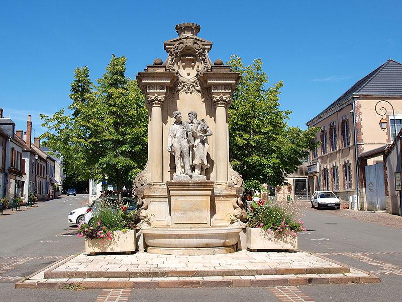 Photo du Monument Historique Fontaine Chataigner situé à Bléneau