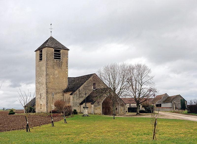 Photo du Monument Historique Eglise Saint-Jean-Baptiste situé à Chassignelles