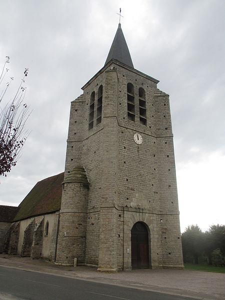 Photo du Monument Historique Eglise situé à Chaumot