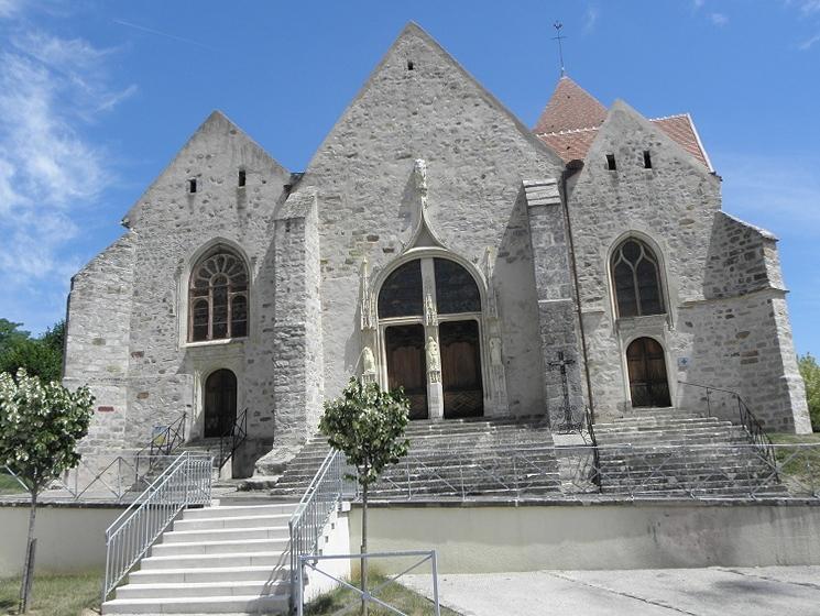 Photo du Monument Historique Eglise Saint-Loup situé à Courlon-sur-Yonne