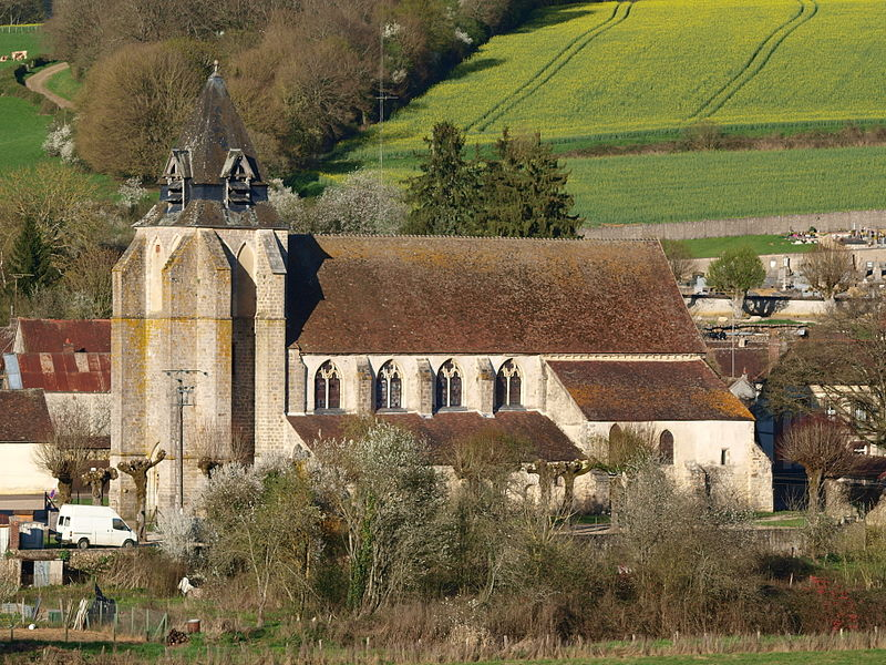 Photo du Monument Historique Eglise situé à Dixmont