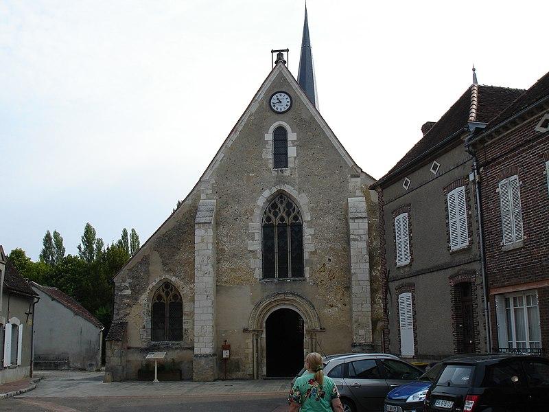 Photo du Monument Historique Eglise Saint-Germain situé à La Ferté-Loupière