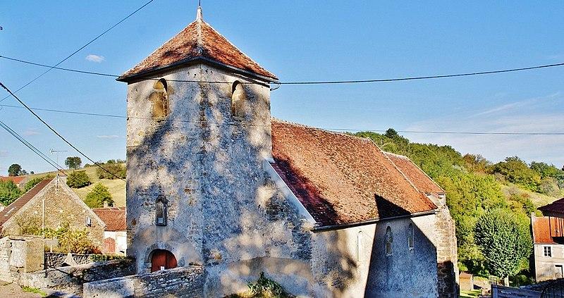 Photo du Monument Historique Eglise Saint-Germain situé à Fontenay-près-Vézelay