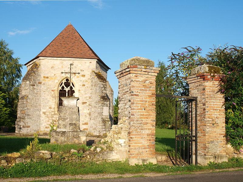 Photo du Monument Historique Cimetière désaffecté situé à Gisy-les-Nobles