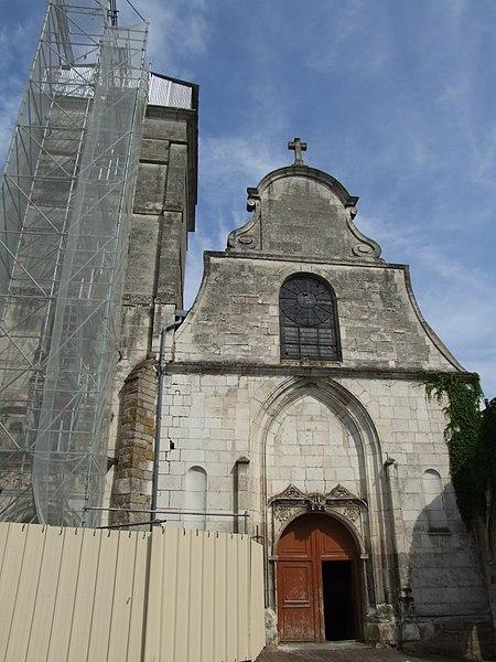 Photo du Monument Historique Eglise Saint-André situé à Joigny