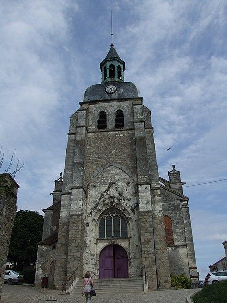 Photo du Monument Historique Eglise Saint-Jean situé à Joigny