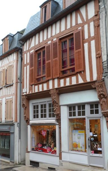Photo du Monument Historique Maison situé à Joigny