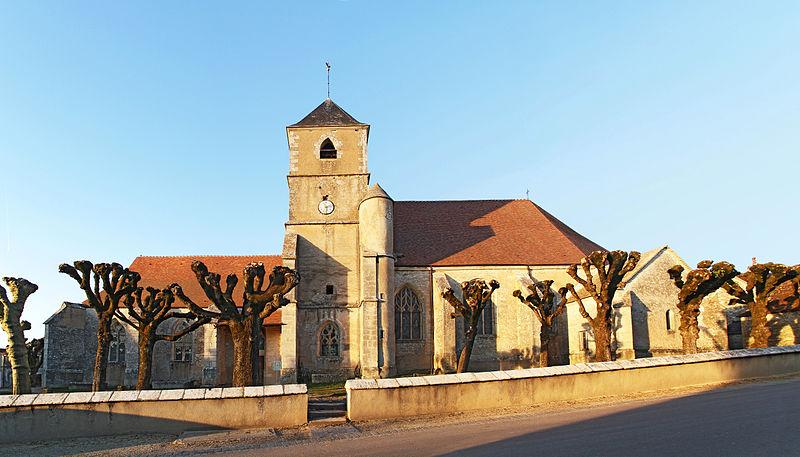 Photo du Monument Historique Eglise Notre-Dame situé à Joux-la-Ville