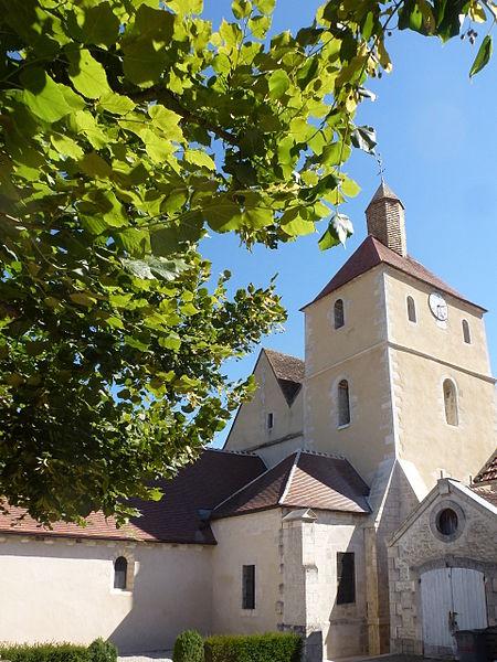 Photo du Monument Historique Eglise Notre-Dame situé à Jussy