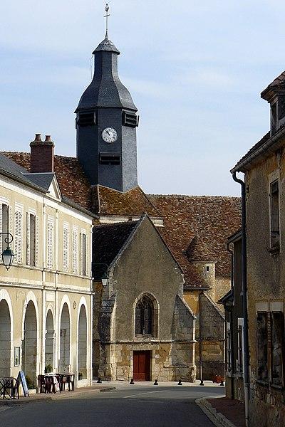 Photo du Monument Historique Eglise Saint-Martin situé à Lainsecq