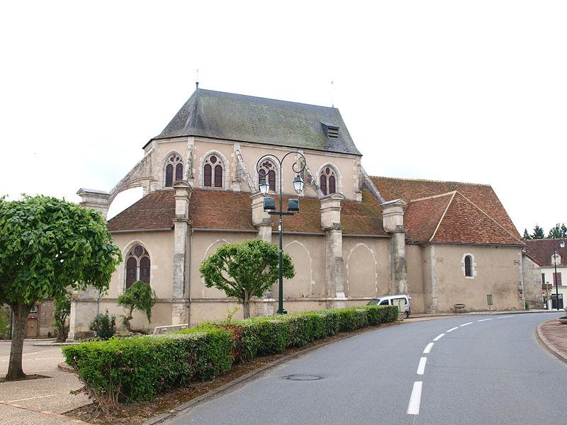 Photo du Monument Historique Eglise situé à Lavau