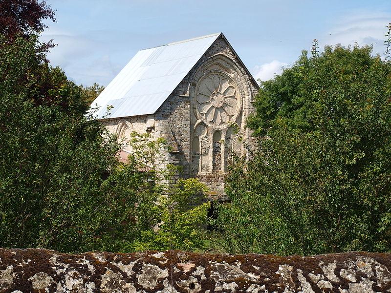 Photo du Monument Historique Abbaye de la Cour-Notre-Dame situé à Michery
