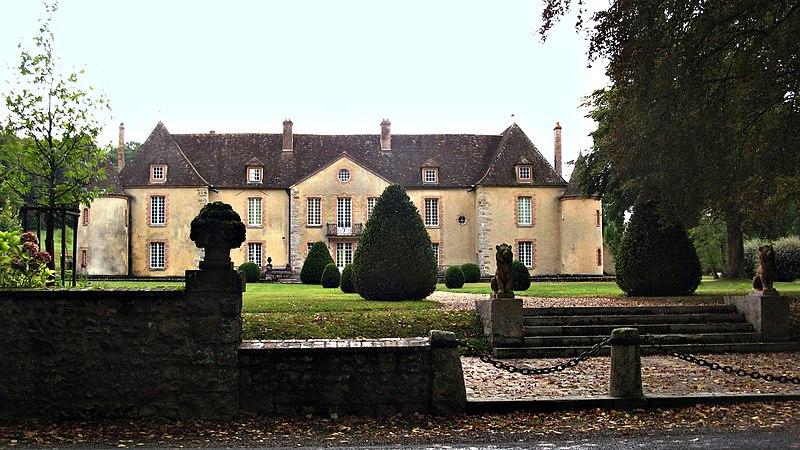 Photo du Monument Historique Château de Bois-le-Roi situé à Nailly