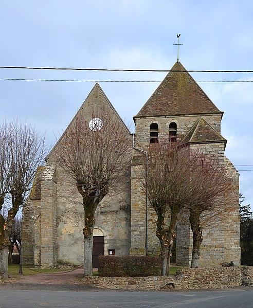 Photo du Monument Historique Eglise Saint-Pierre situé à Nailly