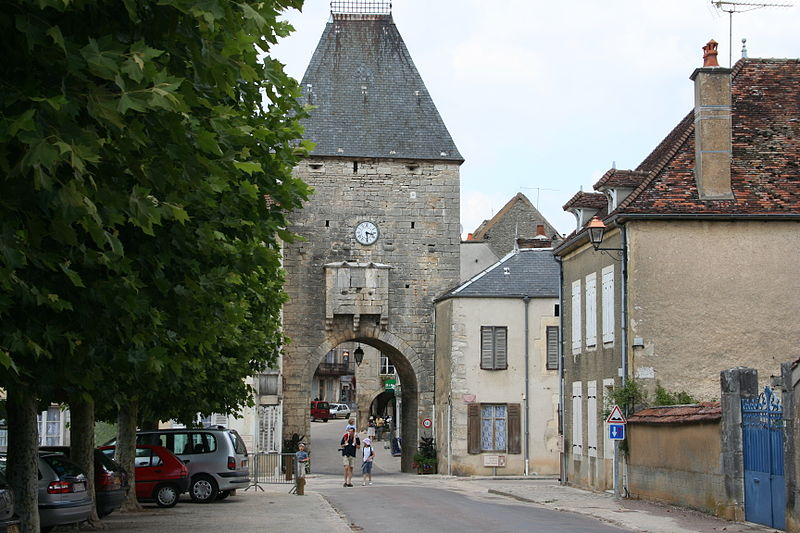 Photo du Monument Historique Porte de Ville situé à Noyers