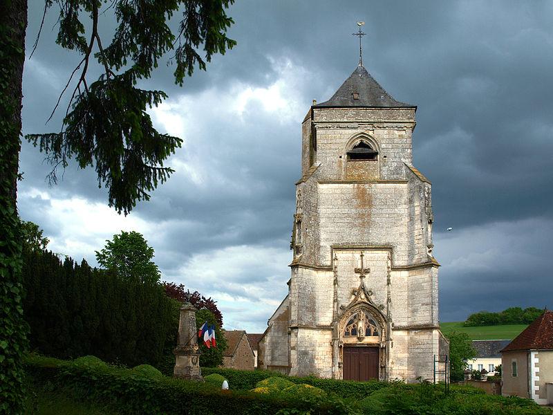 Photo du Monument Historique Eglise Notre-Dame situé à Ouanne