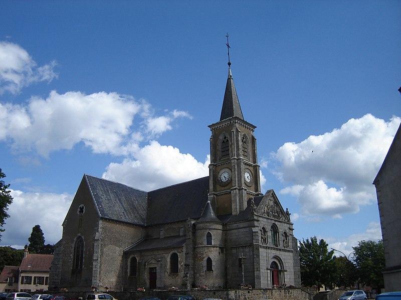 Photo du Monument Historique Eglise situé à Quarré-les-Tombes