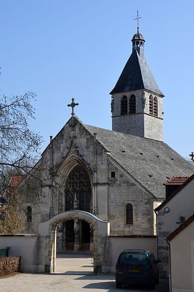 Photo du Monument Historique Eglise situé à Ravières
