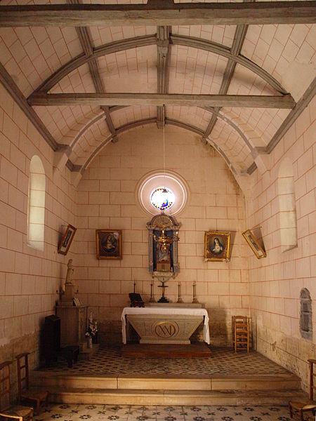 Photo du Monument Historique Chapelle Notre-Dame de Lorette situé à Sainpuits