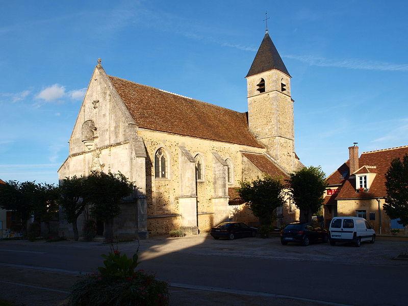 Photo du Monument Historique Eglise situé à Sainte-Colombe-sur-Loing