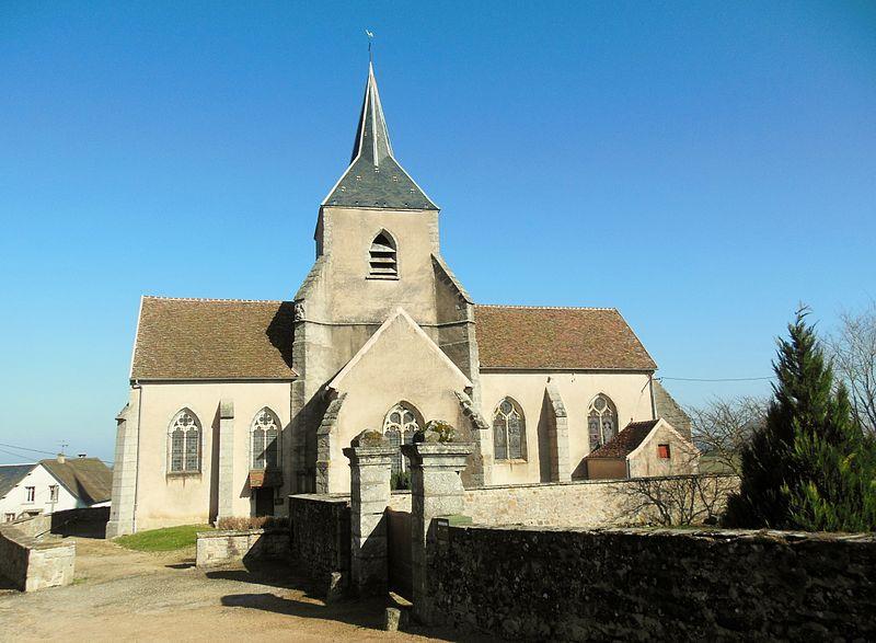 Photo du Monument Historique Eglise Saint-Léger situé à Saint-Léger-Vauban