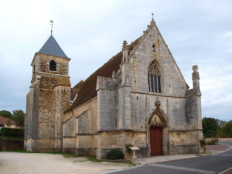 Photo du Monument Historique Eglise Saint-Prix situé à Saints