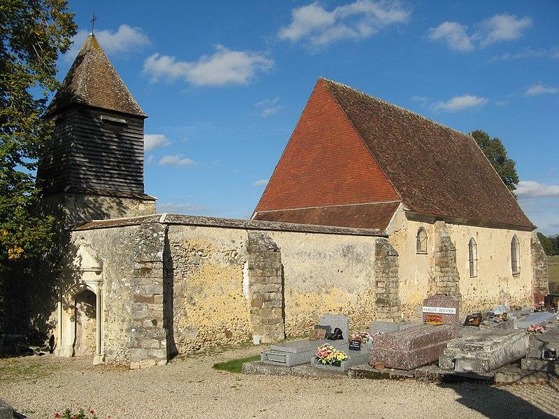 Photo du Monument Historique Eglise situé à Saligny